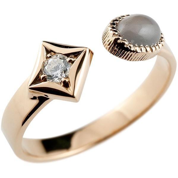 独創的 リング メンズ 指輪 グレームーンストーン ピンクゴールドk10 メンズ ダイヤ柄 菱形 ダイヤ柄 リング フリーサイズ, インディーズ:51518889 --- airmodconsu.dominiotemporario.com