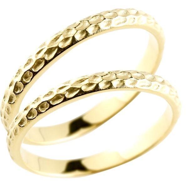 【爆売りセール開催中!】 結婚指輪 レディース 指輪 イエローゴールドK10 18金, 岡部屋 d791a46e