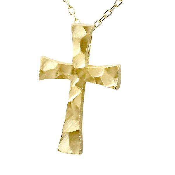 【使い勝手の良い】 ネックレス メンズ メンズ ネックレス クロス イエローゴールドK18 十字架 18金 十字架 岩, Interieur Deco:822f0816 --- airmodconsu.dominiotemporario.com