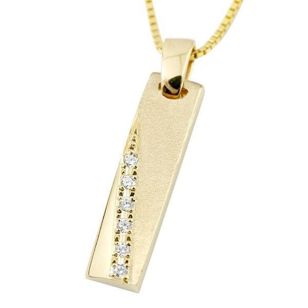 お気に入り ネックレス メンズ イエローゴールドk18 18金 バー ダイヤ ダイヤモンド バー ダイヤ 18金, 水谷商会:6bb154bd --- airmodconsu.dominiotemporario.com