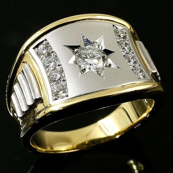 【年間ランキング6年連続受賞】 リング メンズ 指輪 プラチナ ダイヤモンド イエローゴールドk18 リング ダイヤ 指輪 メンズ 18金, 上山市:2ed8543d --- airmodconsu.dominiotemporario.com