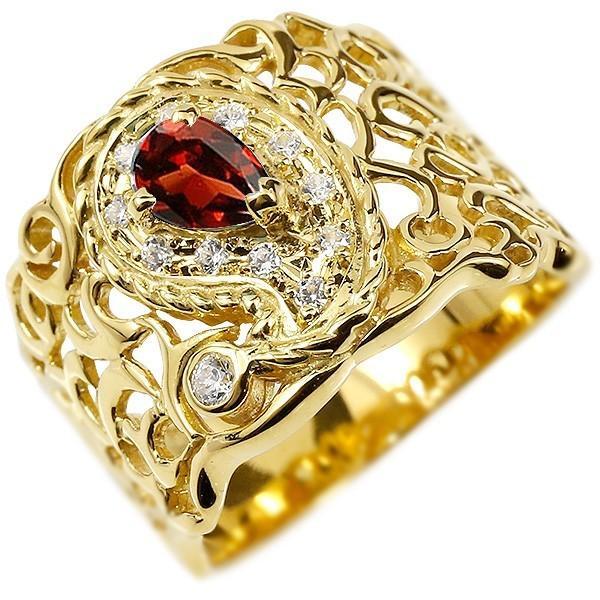 安いそれに目立つ リング 指輪 レディース キュービックジルコニア ガーネット レディース ガーネット 指輪 イエローゴールドk10, TiCTAC:f439f51e --- airmodconsu.dominiotemporario.com