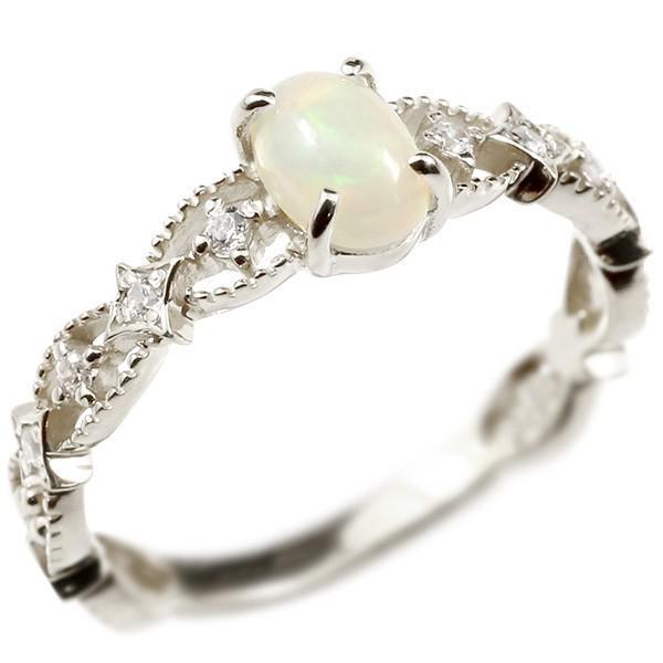 お待たせ! 指輪 レディース レディース リング リング プラチナ 指輪 オパール ダイヤモンド, OC SPORTS ANNEX:a054dd2e --- airmodconsu.dominiotemporario.com