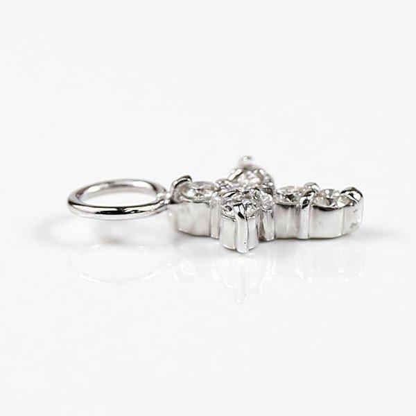 ダイヤモンド 0.20ct ピアスパーツ ホワイトゴールドk18 ダイヤ 18金 レディース 送料無料 人気|atrusyume|02