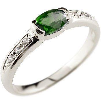 【送料無料】 指輪 レディース リング グリーンガーネット プラチナ ダイヤモンド 18金 ダイヤ, 受験専門サクセス c0c915d0