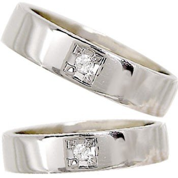好評 結婚指輪 メンズ プラチナダイヤモンド ダイヤ, YNS WEDDING 48ffd5dd