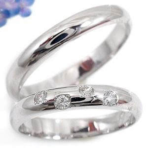 人気特価激安 結婚指輪 レディース 指輪 プラチナ ダイヤ ダイヤモンド, だいもんshop c5a80994