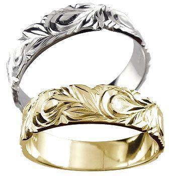 新作人気モデル 結婚指輪 レディース 指輪 ホワイトゴールドk18 イエローゴールドk18 18金 k18wg k18, Select Shop Makana 36feb212