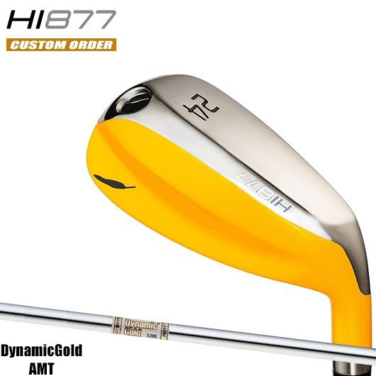 【カスタム】フォーティーン HI877 ユーティリティ ダイナミックゴールド AMT シャフト装着仕様