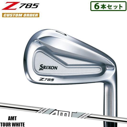 【カスタム】スリクソン Z785 アイアン 6本セット AMT TOUR 白い シャフト装着仕様_#SRIXON#18Z#AMTツアーホワイト