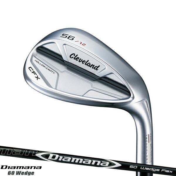 クリーブランド CFX ウェッジ Diamana for CG シャフト装着仕様#Cleaveland#キャビティウェッジ#右打用#ディアマナ