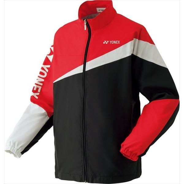 [YONEX]ヨネックス ジュニアテニスウェア 裏地付ウォームアップシャツ (52020J)(007) ブラック[取寄商品]