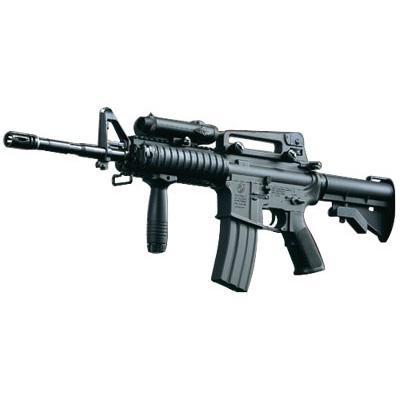 東京マルイ コルト M4A1カービン RIS(R.I.S/リスバージョン/レイルインターフェースシステム) オートマチック電動エアーガン No.62 対象年令18才以上