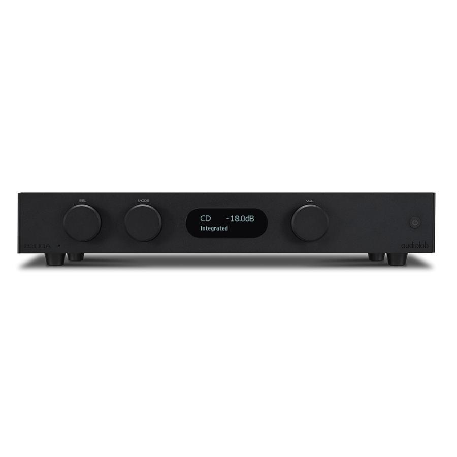 audiolab - 8300A/ブラック(インテグレーテッドアンプ)【メーカー直送品(代引不可)・納期を確認後、ご連絡いたします】|audio-ippinkan