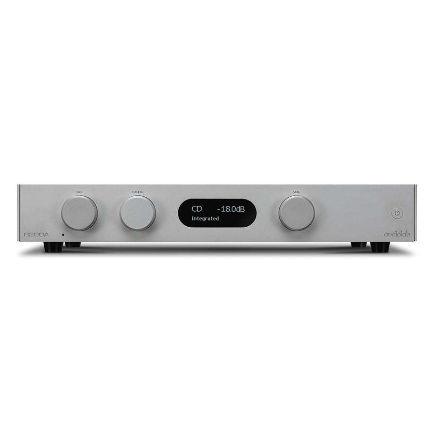 audiolab - 8300A/シルバー(インテグレーテッドアンプ)【メーカー直送品(代引不可)・納期を確認後、ご連絡いたします】 audio-ippinkan
