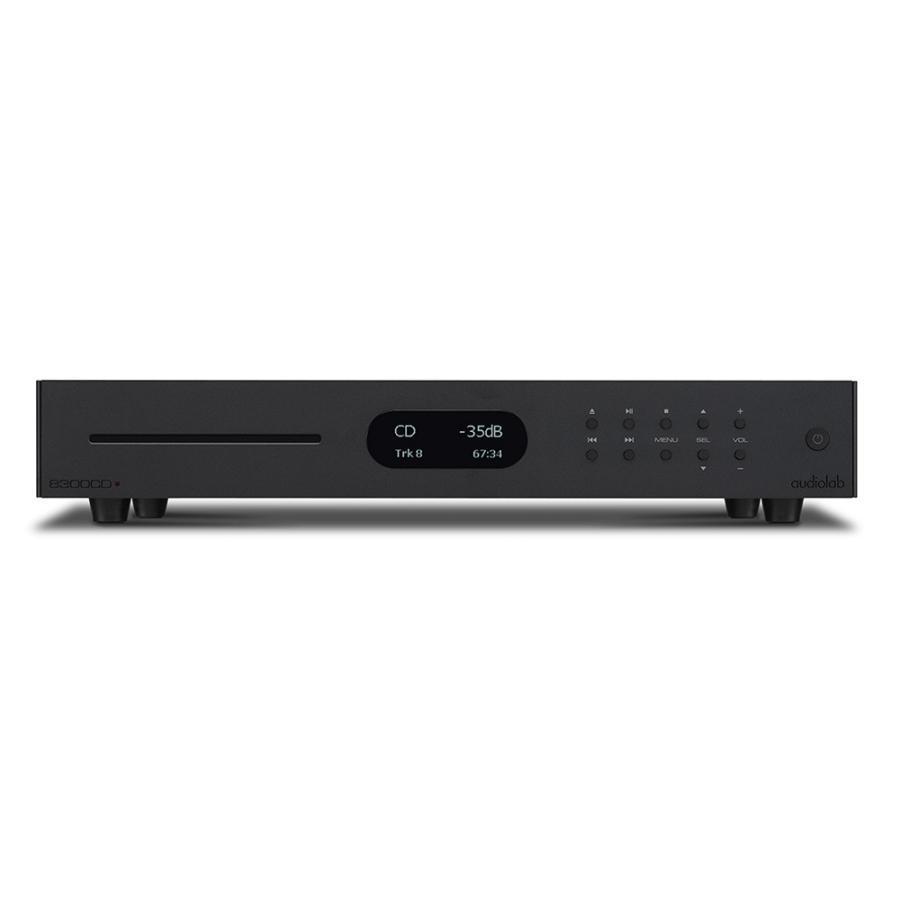 audiolab - 8300CD/ブラック(USB/DAC搭載・CDプレーヤー)【メーカー直送品(代引不可)・納期を確認後、ご連絡いたします】|audio-ippinkan