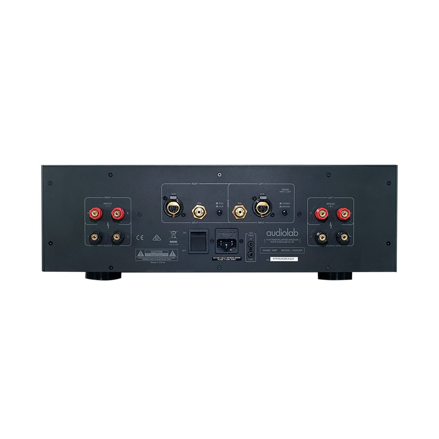 audiolab - 8300XP/シルバー(ステレオパワーアンプ)【在庫有り即納】|audio-ippinkan|02