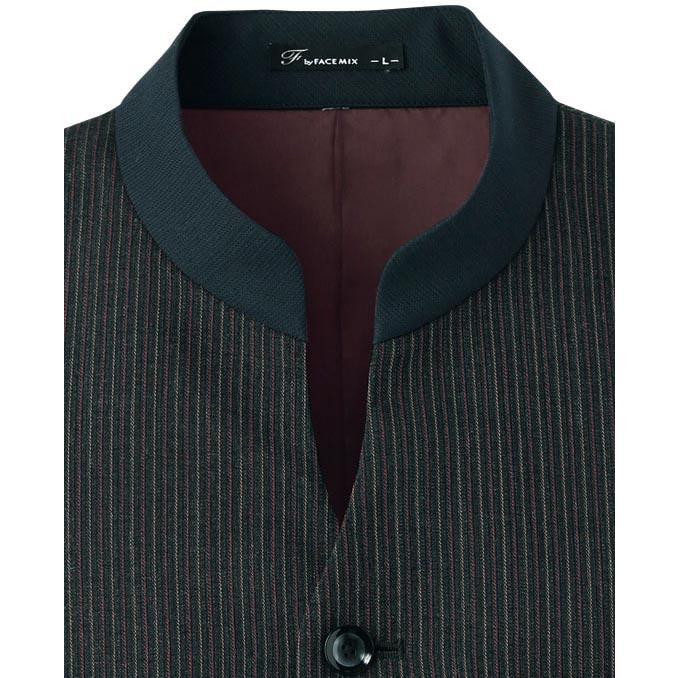 マオカラーベスト メンズ ホテル制服 ソムリエ ギャルソン コンシェルジュ レストラン フォーマルユニフォーム FV1011M|aupres-uniform|05