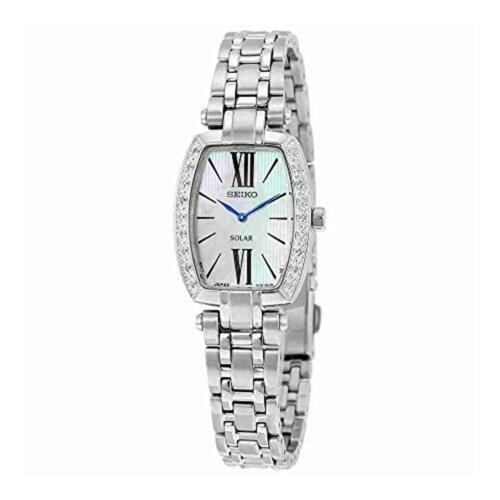 春先取りの 腕時計 セイコー レディース Seiko Women's Tressia Stainless Steel Silver Bracelet Dial Watch SUP283, Feelpool(フィールプール) eb91c8a9