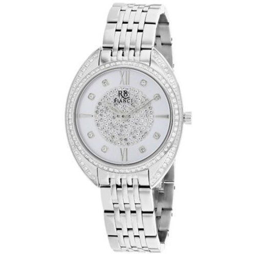 名作 腕時計 ロベルトビアンキ レディース Roberto Bianci Women's Aveta Quartz Crystal Accents Stainless Steel Watch RB0210, キレイと元気の専門店 ベータ食品 942c334c