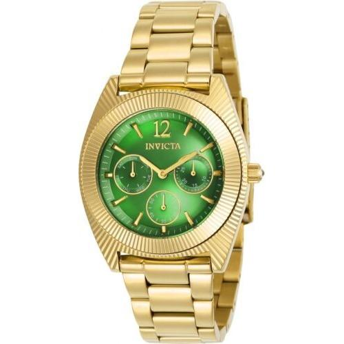 ファッションなデザイン 腕時計 インヴィクタ インビクタ レディース Invicta Women's Angel Quartz Chronograph Stainless Steel Watch 23749, 気質アップ b69e36a7