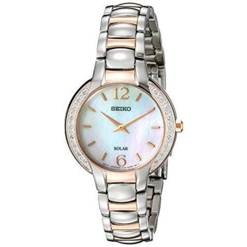 男女兼用 腕時計 セイコー レディース Seiko Women's Analog Display Analog Quartz Two Tone Stainless Steel Watch SUP256, Oリング総研 3bcfd3e6