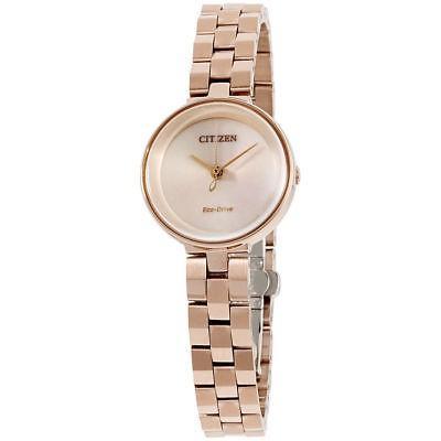 新品 腕時計 シチズン レディース Citizen Ambiluna Eco-Drive Women's Gold EW5503-83X レディース Ambiluna Rose Gold Tone 25mm Watch, 光町:07b74567 --- airmodconsu.dominiotemporario.com