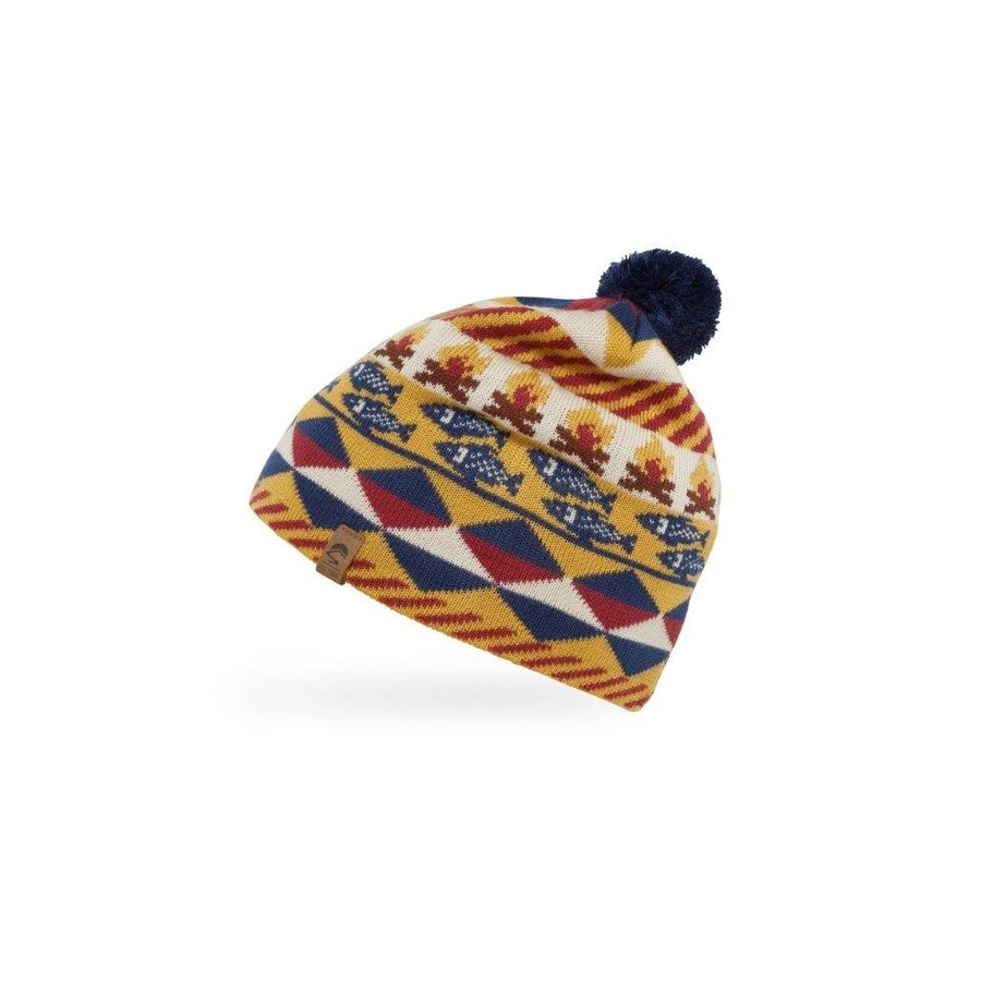 【サンデーアフタヌーンズ】 キッズフィッシュ&ファイヤービーニー(ニット帽子/アウトドア/登山) auroralodge