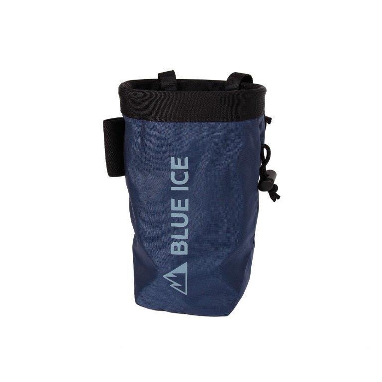 【ブルーアイス BLUEICE】セイバーチョークバック_ブルーサファイア (チョークバッグ/クライミング/小物入れ)|auroralodge