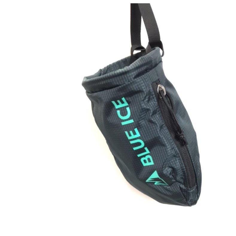 【ブルーアイス BLUEICE】センダーチョークバック_ペトロール (チョークバッグ/クライミング/小物入れ)|auroralodge