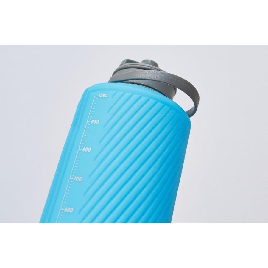 【ハイドラパック HydraPak】フラックスボトル 1L_マンモスグレー (水筒/ウォーターボトル)|auroralodge|04