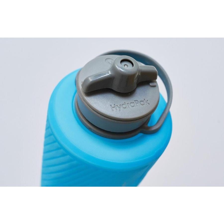 【ハイドラパック HydraPak】フラックスボトル 1L_マンモスグレー (水筒/ウォーターボトル)|auroralodge|06