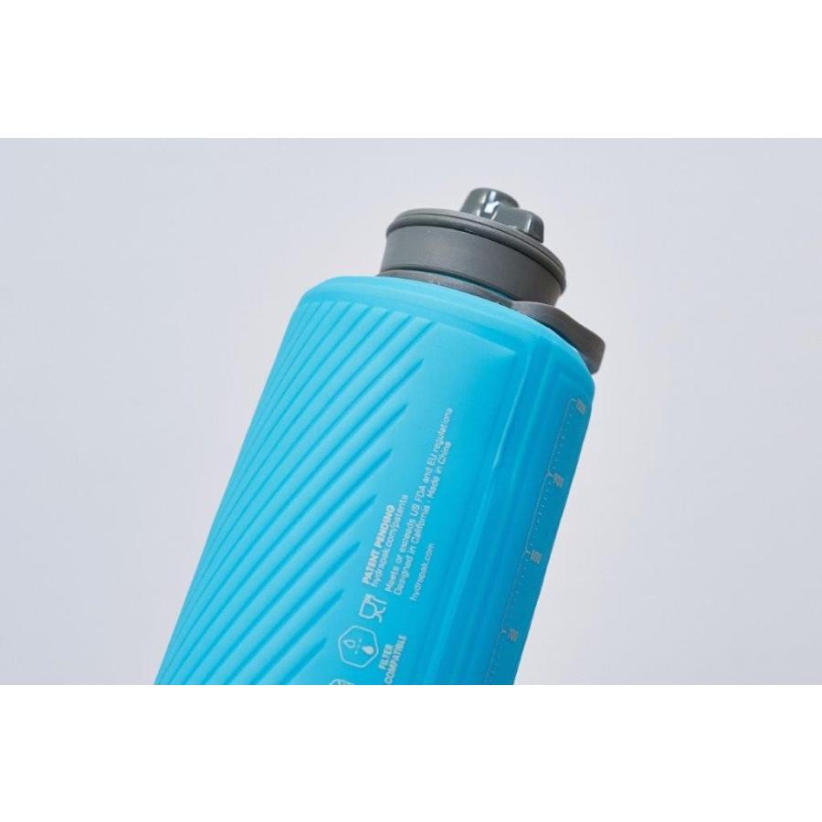 【ハイドラパック HydraPak】フラックスボトル 1L_マンモスグレー (水筒/ウォーターボトル)|auroralodge|09