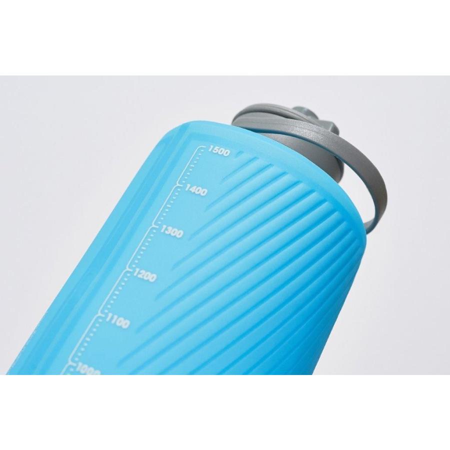 【ハイドラパック HydraPak】フラックスボトル 1.5L_マンモスグレー (水筒/ウォーターボトル)|auroralodge|04