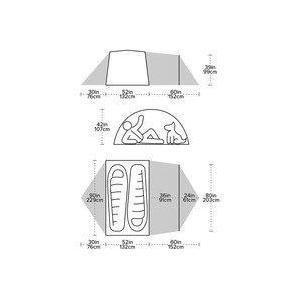 【ビッグアグネス Bigagnes】ブラックテイル 2 ホテル (軽量テント/ハイキング/トレッキング/キャンプ)|auroralodge|03