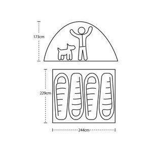 【ビッグアグネス Bigagnes】バンクハウス  4 (キャンプ/大型テント/簡単設営)|auroralodge|14
