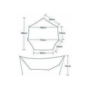 【ビッグアグネス Bigagnes】ディープクリークタープL (キャンプ/タープ/シェルター)|auroralodge|07