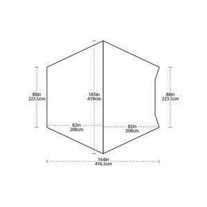 【ビッグアグネス Bigagnes】サンドウォッシュカータープ (カーサイドタープ/シェルター)|auroralodge|07