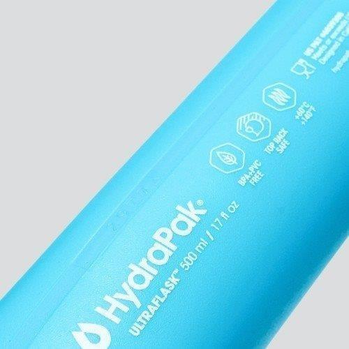 【ハイドラパック HydraPak】ウルトラフラスク 500ml_マリブブルー (ランニングボトル)|auroralodge|06