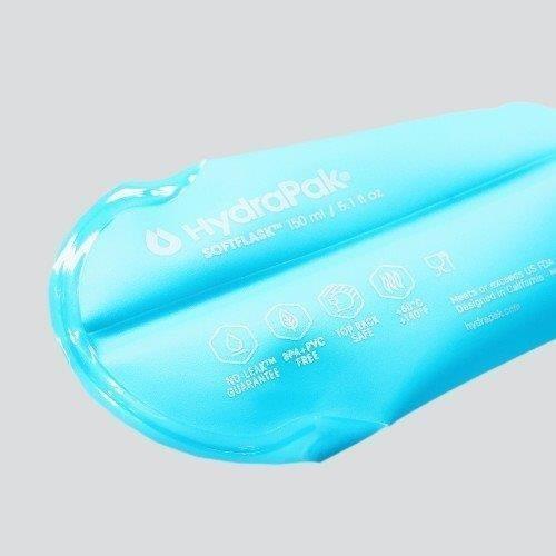 【ハイドラパック HydraPak】ソフトフラスク 150ml_マリブブルー (ランニングボトル)|auroralodge|04