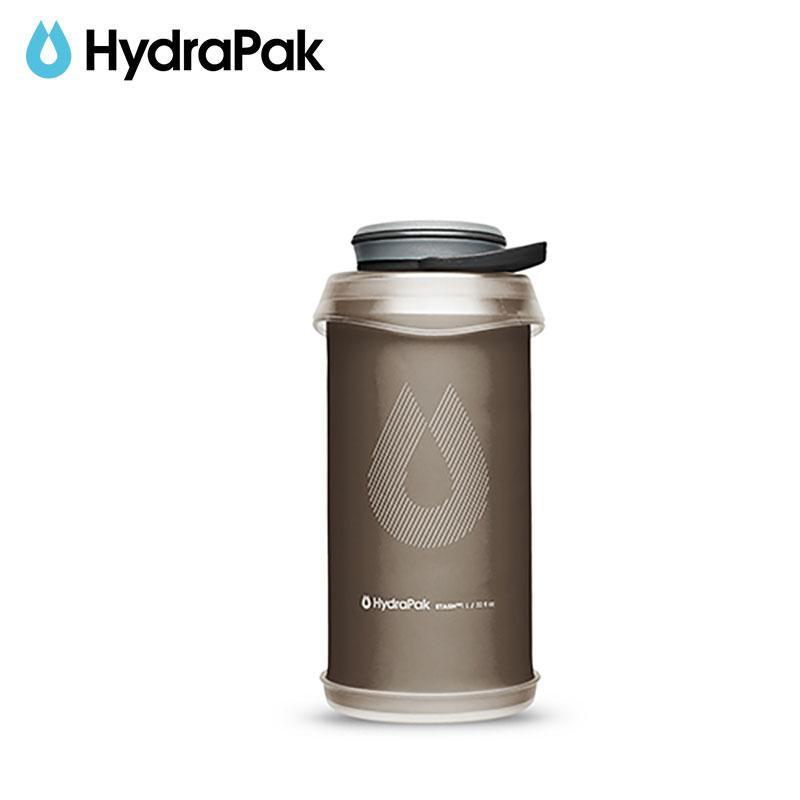 【ハイドラパック HydraPak】スタッシュボトル 1L_マンモスグレー (水筒/ウォーターボトル)|auroralodge