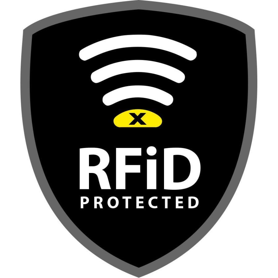【ライフベンチャー LiFEVENTURE】RFiDプロテクト ワレット_オリーブ(財布/スキミング防止/海外旅行/アウトドア) auroralodge 05