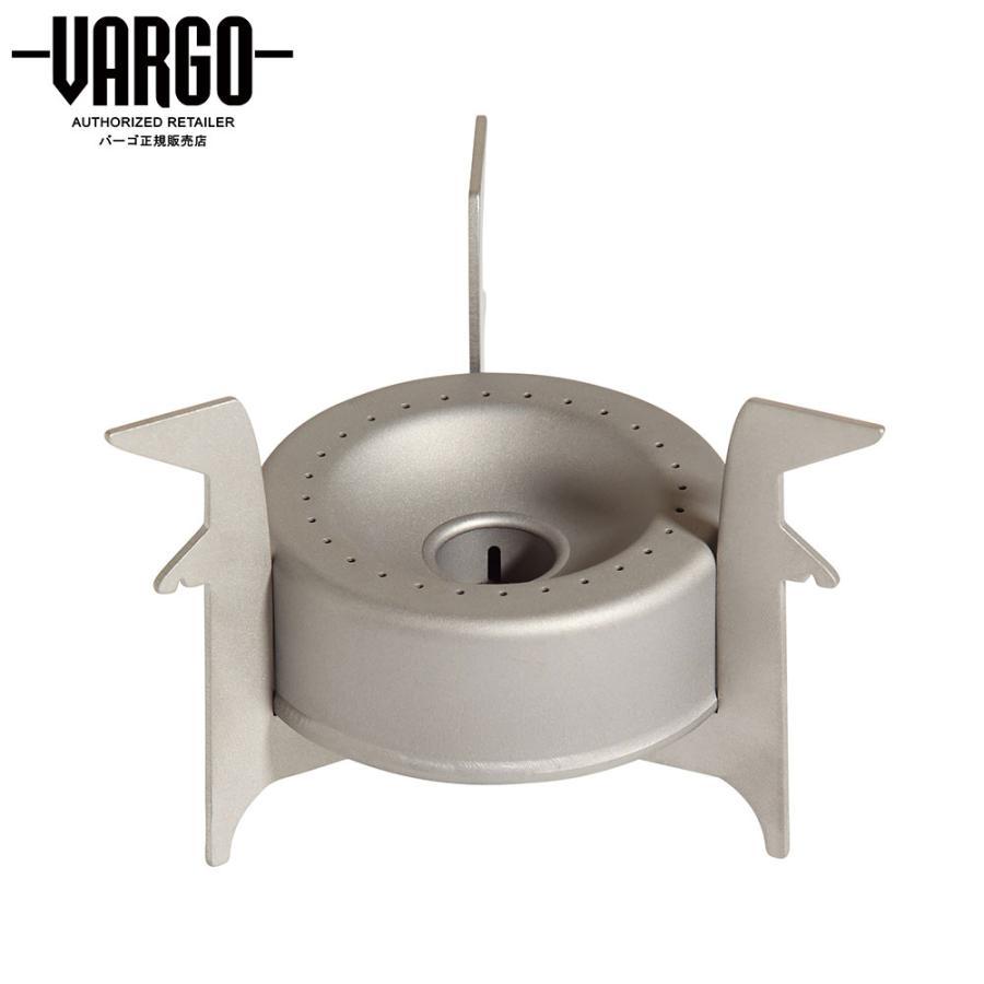 【バーゴ VARGO】チタニウム コンバーターストーブ (アルコールストーブ/チタン/軽量/ウルトラライト/UL) auroralodge