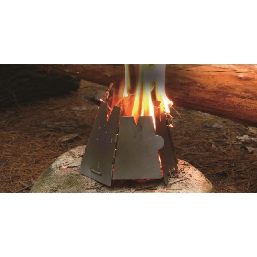 【バーゴ VARGO】ヘキサゴンウッドストーブ  チタン (ネイチャーストーブ/焚火台/チタン/軽量)|auroralodge|03
