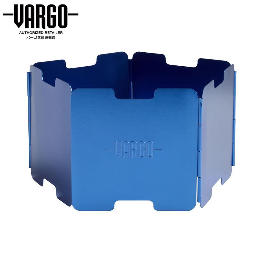 【バーゴ VARGO】アルミニウム ウインドスクリーン ブルー (風防/ウルトラライト/UL/軽量) auroralodge