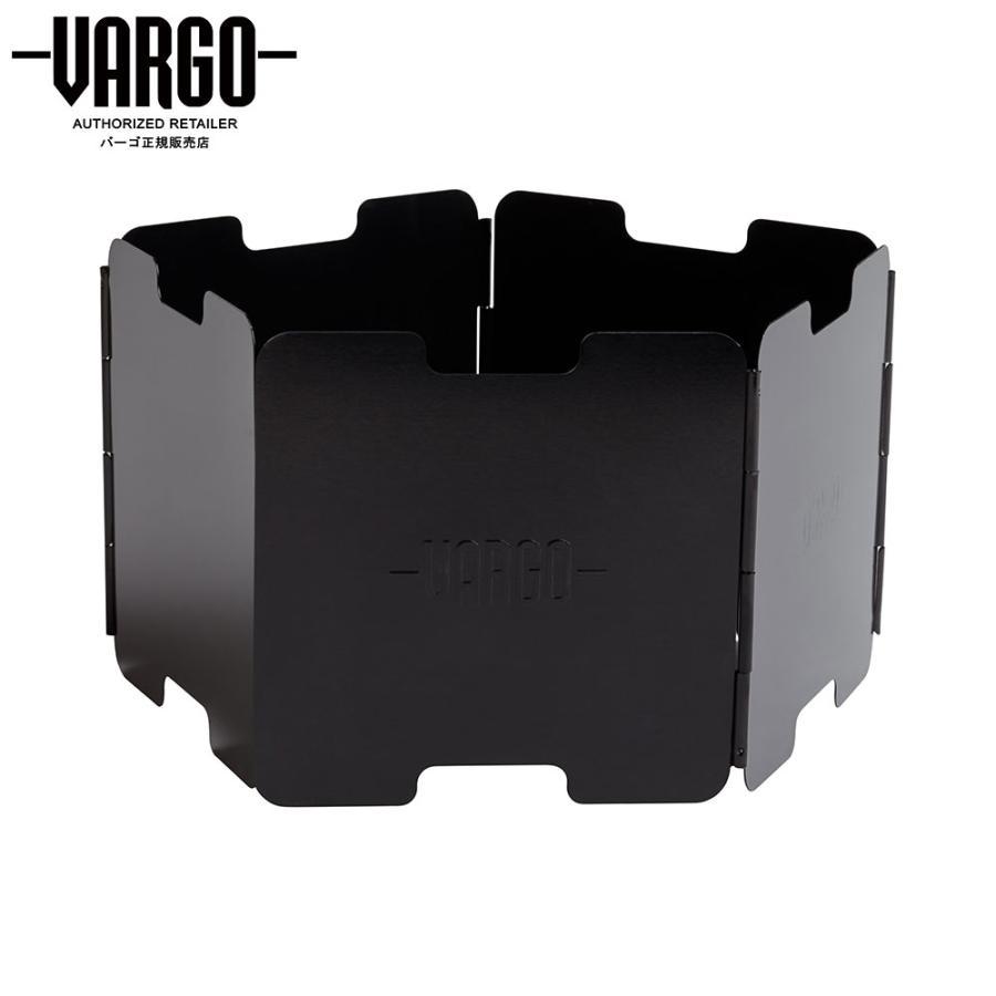 【バーゴ VARGO】アルミニウム ウインドスクリーン ブラック (風防/ウルトラライト/UL/軽量)|auroralodge