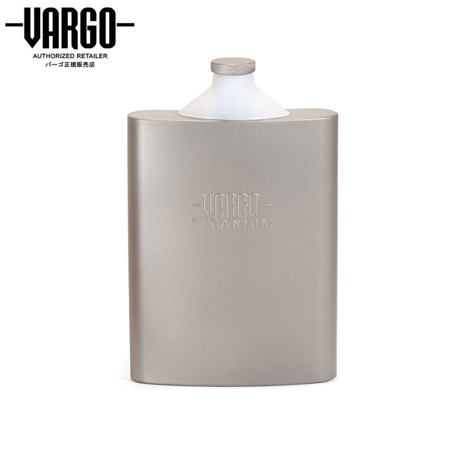 【バーゴ VARGO】チタニウム ファンネルフラスコ (チタン/軽量/フラスク)|auroralodge