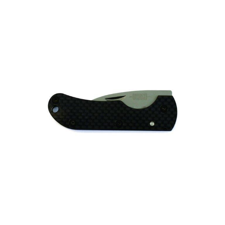 【バーゴ VARGO】Ti-Carbonフォールディングナイフ (チタン/カーボン/軽量/ウルトラライト/UL)|auroralodge|02