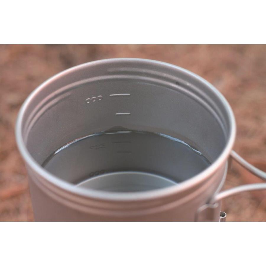 【バーゴ VARGO】チタニウム ボット700 (クッカー/コッヘル/チタン/軽量/ウルトラライト/UL)|auroralodge|03