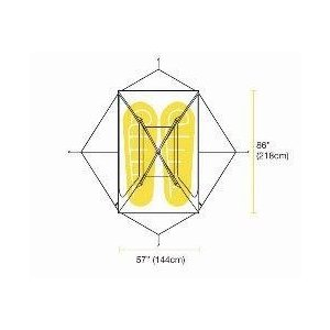【バーゴ VARGO】NO-FLY 2P TENTノーフライ2P (テント/カーボンポール/ウルトラライト/UL/軽量)|auroralodge|09